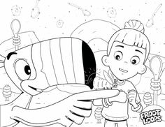 Join Toucan Sam in Froot Loops World. There's so much color waiting for your kids to fill in at the Happy Hilltops – the place where yellow Froot Loops come from! Coloring Pages For Kids, Coloring Books, Froot Loops, Ad Design, Doodle Art, Monster High, Short Hair Styles, Doodles, Snoopy