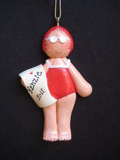 Swimming Ornament Swim Team Gift Swim Team Gifts Gift for Swimmer ...