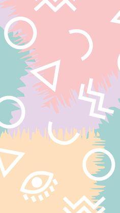 Pastel Wallpaper, Screen Wallpaper, Wallpaper Quotes, Wallpapers Tumblr, Cute Wallpapers, Phone Backgrounds, Wallpaper Backgrounds, Iphone Wallpaper 80s, Disney Wallpaper