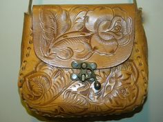These cool leather saddlebags from the '70's are WAY TOO EXPENSIVE now.  I should have bought them a few years ago.