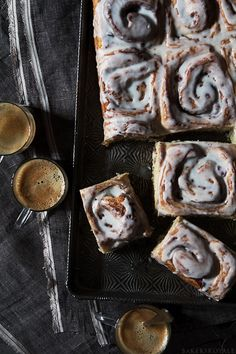 Cranberry and Citrus Cinnamon Rolls via Bakers Royale
