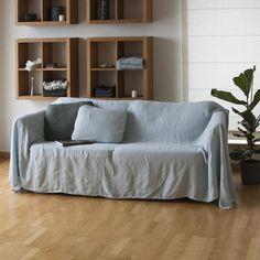 Housse de canapé Lin / Lin couvre-lit Notre housse de canapé/lit lin naturel va vous ravira avec des formes simples, claires souffle de couleurs et de la nature dans votre maison. Cet article fait à la main est durable, respectueux de la nature et semble mieux en mieux avec l'âge et à chaque lavage. * 100 % lin naturel * perméable à l'air, anti-allergique * lavé, ramolli * léger, très résistant et solide * facile à laver ::: Morceau de nature dans votre maison ::: Tailles dispon...