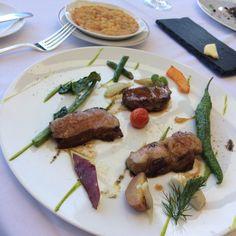 イベリコ豚とインゲン豆煮込み添え@ラフール