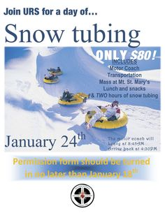 Snow Tubing Flyers Google Search Hulk Breakfast Party