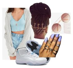 """Come Thru Remix Jaquees and Rich Homie Quan"" by beautyqueen-927 ❤ liked on Polyvore featuring BDG and Retrò"