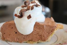 Miss Grace Filled Life: French Silk Pie