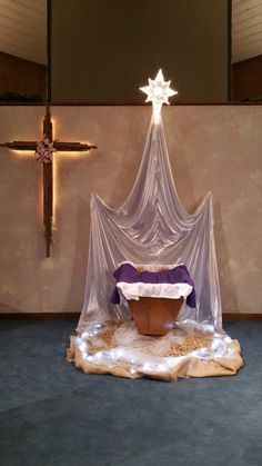 Christmas display at Northwest Christian Church (Disciples of Christ)