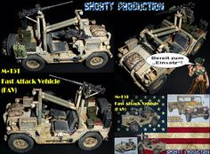 Shorty-Production: M-151 Fast Attack Vehicle (FAV)