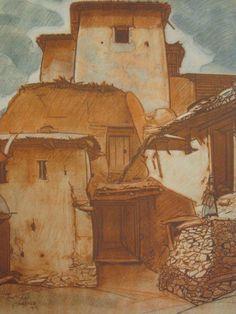 Planche 23 - Tamtergah - Vallée de l'Ounein grand Atlas - Tigmi Amrar