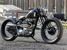 Triumph custom bobber | Bobber Inspiration - Bobbers and Custom Motorcycles | the-ghost-darkness August 2014