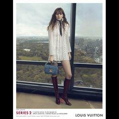Louis Vuitton's S/S 2015 Campaign // Photo by Annie Leibovitz