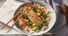Japanese Sesame Salmon Recipe | HelloFresh