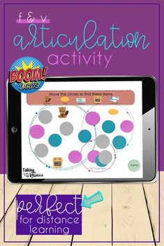 Don't let another day go by with boring articulation drills! Ramp up your distance learning with a fun Articulation Hunt for F and V words! Search for your speech sounds in two different activities with this fun Boom Deck. Articulation Therapy, Articulation Activities, Speech Therapy Activities, Family Game Night, Family Games, V Words, Play Therapy Techniques, Speech Room, Social Thinking