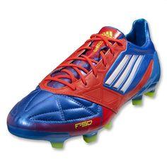 new style 32a61 d72ed adidas F50 adizero TRX FG Soccer Shoe (Leather) G45575 Prime Blue