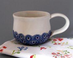 pretty pottery mug