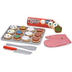 Buy Melissa & Doug Wooden Play Slice and Bake Cookie Set Online in Canada | FREE Ship $29+