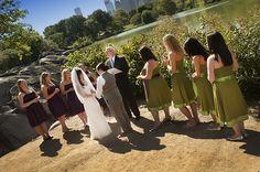Central Park LGBT Wedding Ceremony performed by Reverend Will Mercer