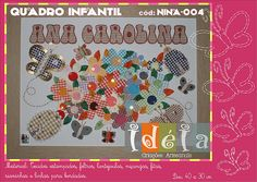 IDEIA Quadro Nina Jardim / Cód: NINA 004