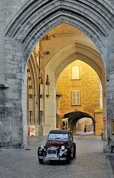 ✕ Villefranche de Rouergue in France / #travel #france