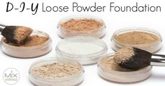 Learn how I started saving $50 a month with DIY makeup recipe. This DIY powder foundation uses ingredients already in my kitchen!