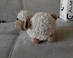 Kolay Amigurumi Kuzu Tarifi 13 See other ideas and pictures from the category menu…. Crochet Sheep, Crochet Animal Amigurumi, Amigurumi Patterns, Crochet Animals, Crochet Toys, Amigurumi Animals, Crochet Motifs, Crochet Patterns, Crochet Christmas Hats