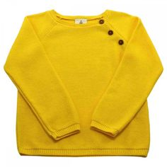 Lililotte - Pull tricot mimosa Clément