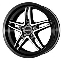 Alutec Poison Cup 8.5 x 20 Inch Alloy Wheels Black Polished