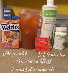 Herbalife Meal Plan, Herbalife Shake Recipes, Protein Shake Recipes, Herbalife Nutrition, Smoothie Recipes, Healthy Smoothies, Healthy Drinks, Healthy Eating, Herbal Detox