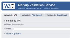W3C HTML  http://validator.w3.org