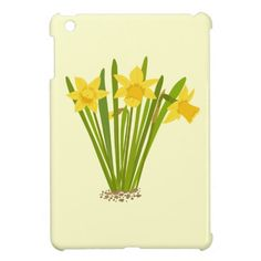 Daffodils iPad Mini Cases