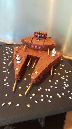 Star Wars Anniversary Cake - My Home, Creations, Ideas .- Star Wars Anniversary Cake – My Home, Creations, Ideas … – … - Star Wars Birthday Cake, Star Wars Cake, Star Wars Party, Birthday Cakes, Diy Star, Rainbow Birthday, Birthday Star, Kids Meals, Food And Drink