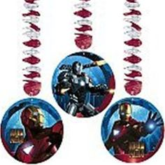 Iron Man 2 Danglers 3ct