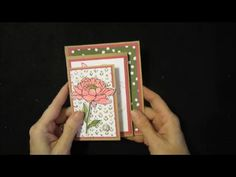 Inking It Up With Cathy: Four Panel Z Fold Card....