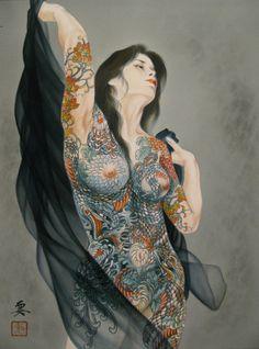 Illusration by Kaname Ozuma (Youko Ozuma) #japon #art