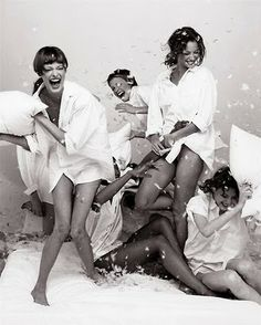 the best slumber parties have pillow fights!