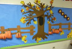 Fall Bulletin Board Display Idea