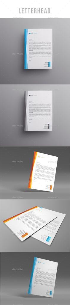 Letterhead Design A Template Psd  Letterhead Design Templates
