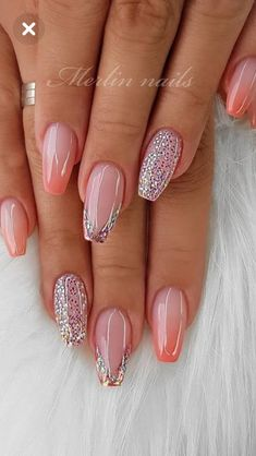 55 Stylish Coffin Nail Designs To Copy Right Stylish Coffin Nail Designs To Copy Right Now Honeycomb Nail Art See We loved this nail art model, which is reminiscent of honeycomb. Fancy Nails, Pink Nails, Cute Nails, Gel Nails, Coffin Nails, Toenails, Nail Nail, Stiletto Nails, Summer Acrylic Nails