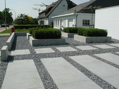Paving and gravel