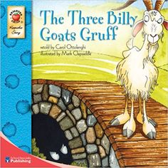 Amazon.com: The Three Billy Goats Gruff (Keepsake Stories) (9780769658681): Carol Ottolenghi: Books
