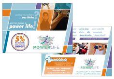 Folheto Academia Power Life