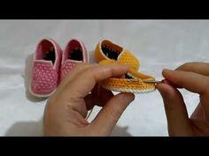 Crochet Baby Shoes, Crochet Slippers, Diy Crochet, Doll Patterns, Knitting Patterns, Crochet Patterns, Amazing Food Art, Henna Art Designs, Cute Baby Videos