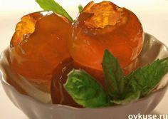 Прозрачное варенье из яблок - такое вкусное и красивое, что ел бы и ел