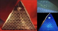 More than 350 artifacts were found in Ecuador in an old tunnel system. One artifact in particular shows the same pyramid with an all-seeing eye at the top of it (below). Under a black light, the eye takes on an interesting hue while on the bottom of this artifact, you can see a star map of Orion's Belt along with writing that is older than any known writing on this planet. According to the research of Klaus Dona, the same writing has been found all over the world, proving that there was a…