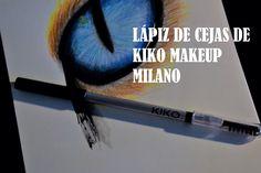 9. Lápiz de cejas de KIKO Makeup Milano: Yo prefiero utilizar los lápices de ojos para rellenar las zonas blancas de las cejas y después con el cepillo lo extiendes bien por toda la ceja para dar un aspecto uniforme.