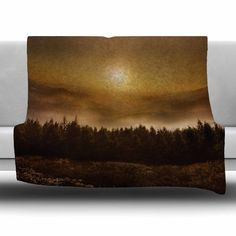 East Urban Home The Awakening by Viviana Gonzalez Fleece Blanket Size: 80'' L x 60'' W