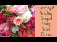 In this video the creator of Sola Wood Flowers, Meagan Bowman, will show you how you can easily create your own wedding bouquet. By using wood flowers you ca. Wood Flower Bouquet, Sola Wood Flowers, Paper Flowers Diy, Flower Bouquets, Diy Paper, Diy Wedding Bouquet, Diy Bouquet, Wedding Flowers, Wedding Stuff