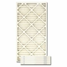 """14"""" X 36"""" X 1"""" MERV 13 Pleated Filter by IAQ. $111.95. 14"""" X 36"""" X 1"""" MERV13 Pleated Filter (Actual Size 13.5"""" x 35.5"""" x .75"""") Improve indoor environmental quality with this high-efficiency pleated filter. These pleated panel filters are engineered for sturdy performance and ease of use and provide an upgrade over standard pleated filters. This filter removes 90% of particles sized from 1-3 microns, and provides the ultimate filter performance for residential and com..."""