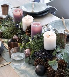 Filling Your Home with Favorite Christmas Scents- Pink Candles Filling Your Home with Favorite Christmas Scents- Pink Candles grziwotz decoracje stolu PERFECT CHRISTMAS CANDLES Table Decorations Christmas Candles DIY Christmas nbsp hellip Centerpiece Christmas, Christmas Advent Wreath, Christmas Scents, Nordic Christmas, Christmas Tablescapes, Christmas Table Decorations, Christmas Candles, Decoration Table, Christmas Time