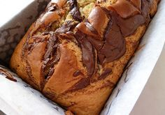 A great Nutella Cake recipe - easy, delicious and not too sweet. This simple Nutella Cake is actually a giant Nutella muffin made in a cake loaf tin. Easy Cake Recipes, Sweet Recipes, Baking Recipes, Dessert Recipes, Dessert Ideas, Bread Recipes, Nutella Muffins, Nutella Cake, Nutella Recipes